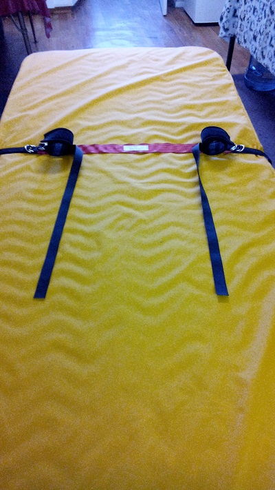 Arm Immobiliser ready for use