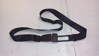 Wheel Chair Belt with seat belt buckle.